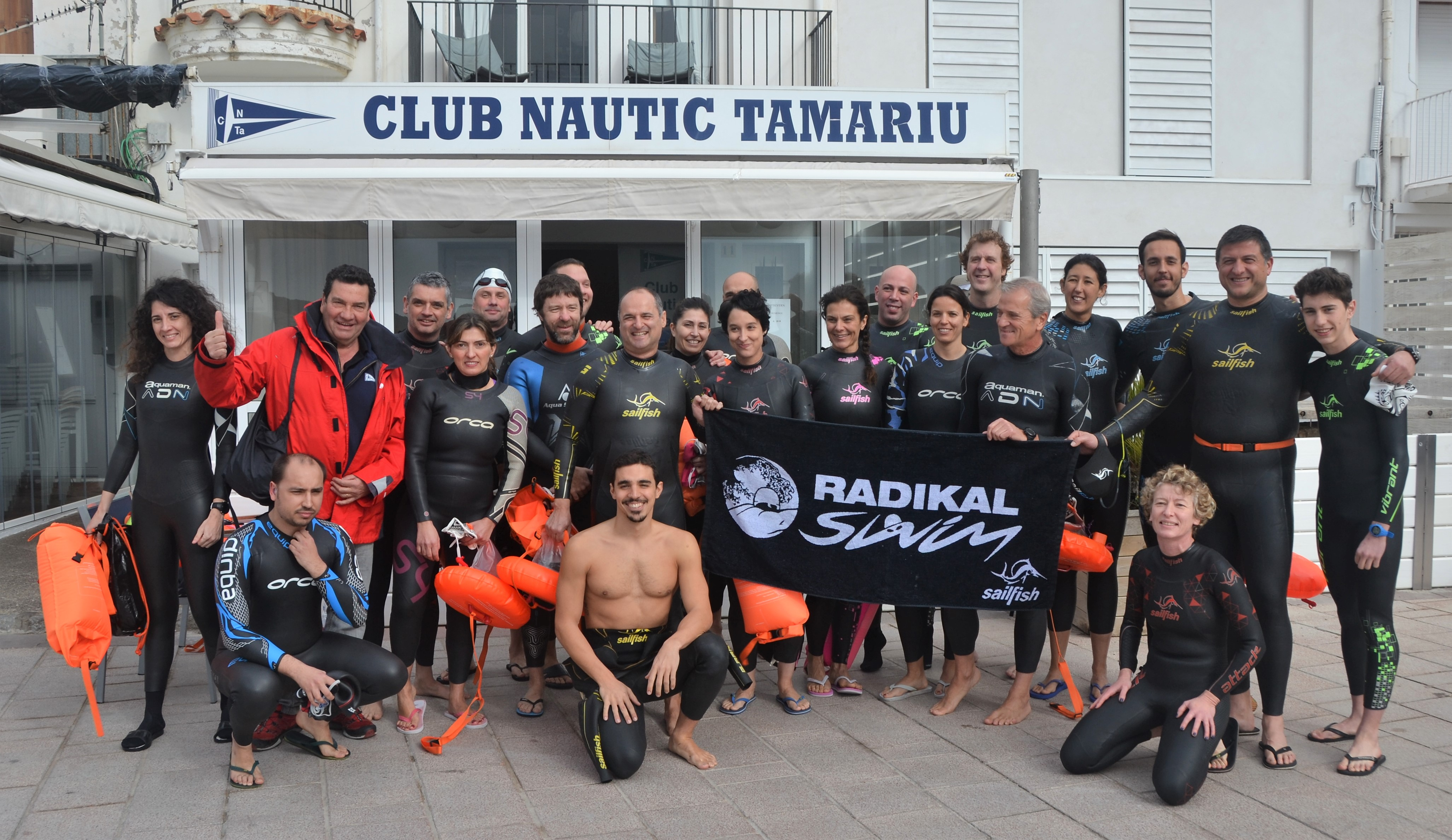 A great open water swim in Tamariu!
